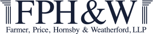 Farmer, Price, Hornsby & Weatherford, LLP